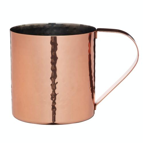Moscow mule mug, 550ml, Hammered Copper Finish