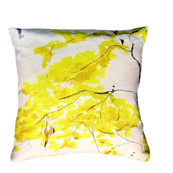 Chinese Tree Cushion, L45 x W45cm, multi