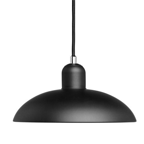 Kaiser Idell-6631 P Pendant lamp, H13.5 x Dia28.5cm, Matt Black