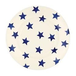 Blue Star Plate, 22.1cm