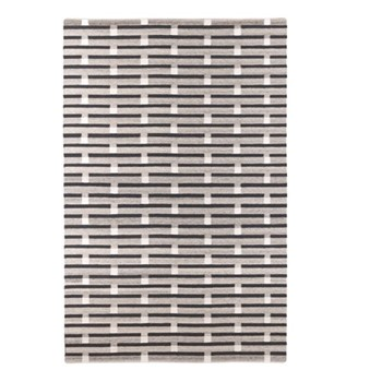 Purlin By Eleanor Pritchard Rug, W200 x L300 x D1cm, warm grey