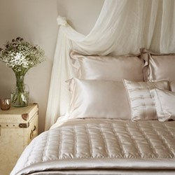 Signature King size pillowcase, 50 x 90cm, nude