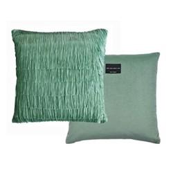 Tassel Cushion, 40 x 40cm, jade
