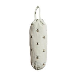 Bees Carrier bag holder, 19 x 44cm, Test