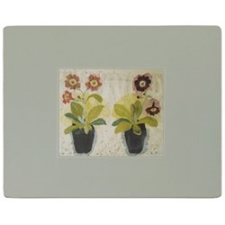 Flowers Pair of serving mats, 29 x 39cm