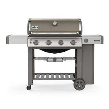 Genesis II E-410 GB Gas barbeque, H120 x W165 X D74cm, smoke grey
