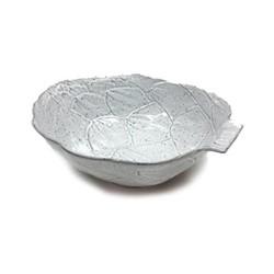 Artichoke Pair of bowls, 32.6 x 27.7 x 10.1cm, white