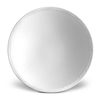 Corde Soup plate, 23cm, white