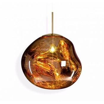 Melt Hanging pendant, H32 x L48 x W48cm, gold
