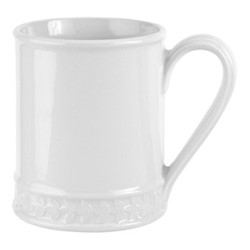 Botanic Garden Harmony Set of 4 tankard mugs, 45cl, white