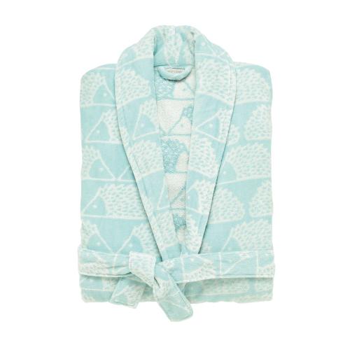 Spike Robe, small, Aqua