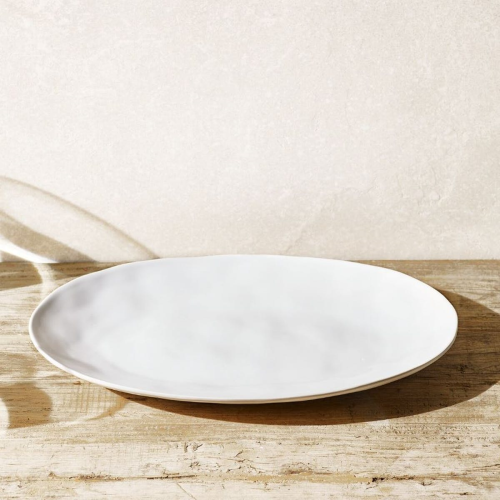 Portobello Large serving platter, 31 x 46m, White