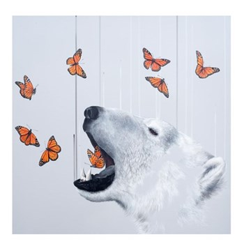 Example Artwork Exhale by Louise McNaught