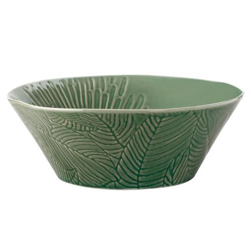 Panama Panama Stoneware Round Serving Bowl Kiwi Gift Boxed, Green