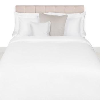 500 Thread Count Sateen King size duvet cover, W220 x L240cm, white