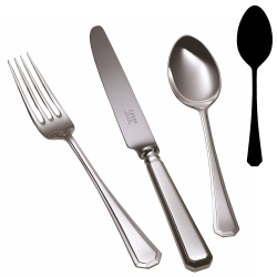 Grecian Table spoon, stainless steel