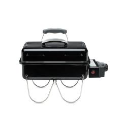 Go-Anywhere Portable gas barbecue, H37 x W53 x D31cm, Black