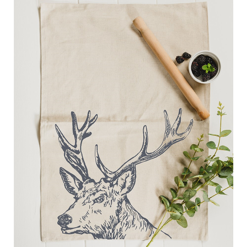 Stag Tea towel, 50 x 70cm