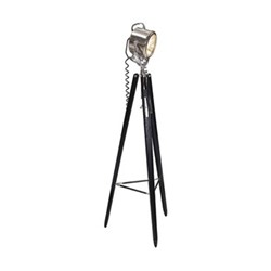 Sweet Pea Floor lamp, H164 x W60 x L60cm, honey/black maple