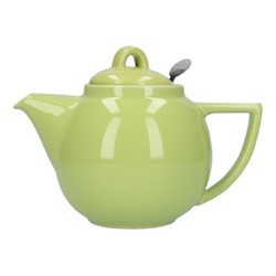 Geo 2 cup teapot, H13 x D12cm, pistachio