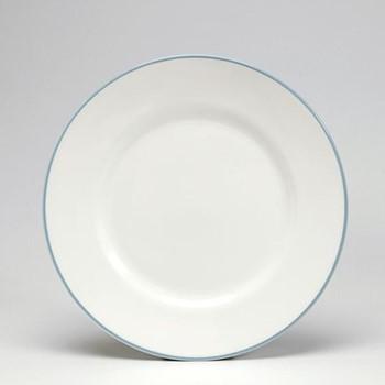 Dessert plate, 21cm, duck egg/white