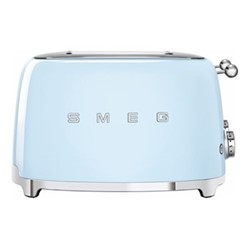 50's Retro 4 slice toaster - 4 slot, pastel blue