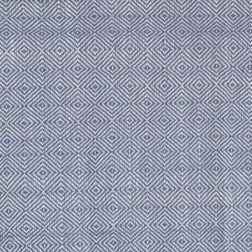 Diamond Throw, L230 x W130cm, Navy