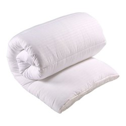Luxury Microfibre - 10.5 Tog Single duvet, L135 x W200cm, white