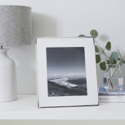 "Fine Silver Photograph frame, 8 x 10"""
