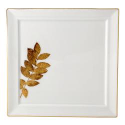 Vegetal Or Square wallis plate, 21cm