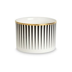 Lustre Sugar bowl, D8 x H5.5cm, black stripe