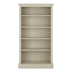 Milne Bookcase, H164 x W89 x D30cm, taupe