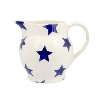 Blue Star Jug, 1/2 pint