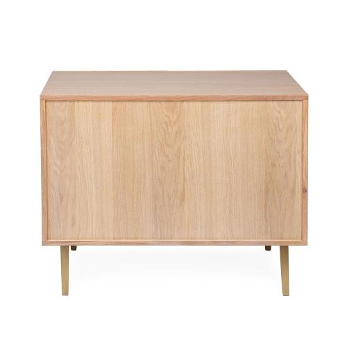 Crawford Small sideboard, H73 x  W95 x D42cm, Light Oak