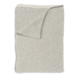 Tundra Throw, 180 x 120cm, ivory/soft grey