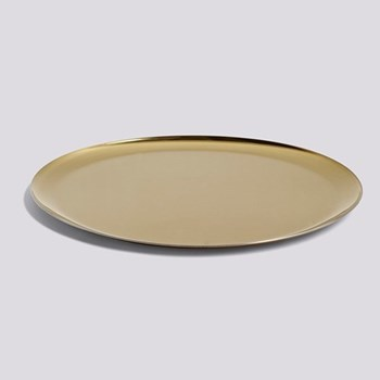 Serving tray, L28 x W28cm, gold