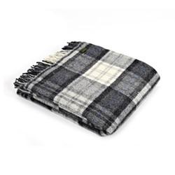 Cottage Knee rug, 70 x 183cm, grey check