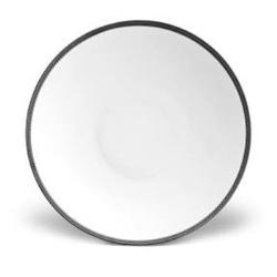 Soie Tressée Large coupe bowl, 37cm - 2 litre, Black