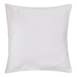 Ebba Square cushion cover, 65cm, white