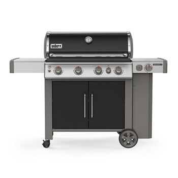 Genesis II EP-435 GBS Gas barbeque, H120 x W165 x D74cm, black