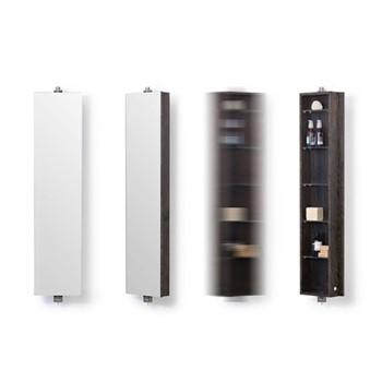 Revolve Domain Storage cabinet, H11.10 x W26 x D9.5cm, dark brown