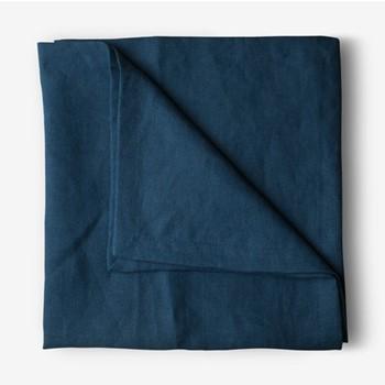 Porto Tablecloth, 175 x 250cm, navy