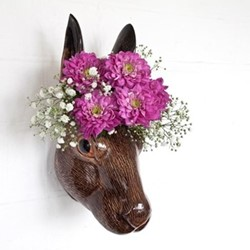 Hare Wall vase, L17 x D16 x H15cm