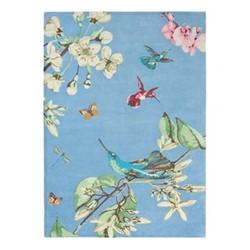 Hummingbird Rug, W170 x L240cm, blue
