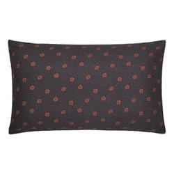 Hawards Garden Pair of pillowcases, 74 x 48cm, aubergine