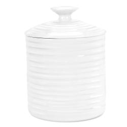 Ceramics Storage jar small, 10.5 x 10.5cm, White
