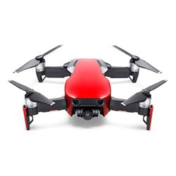 Mavic Air drone with controller, flame red