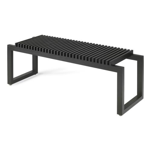 Cutter Bench, W121 x D40 x H43.5cm, Black