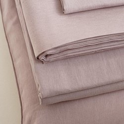Pair of pillowcases, 50 x 75cm, champagne pink