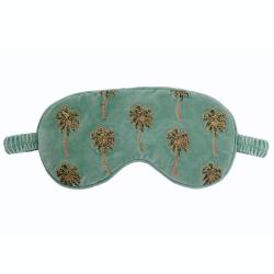 African Palmier Eye mask, H10 x W21cm, Khaki